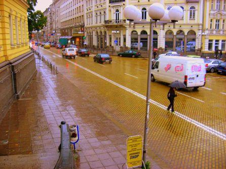 Rainy Sofia
