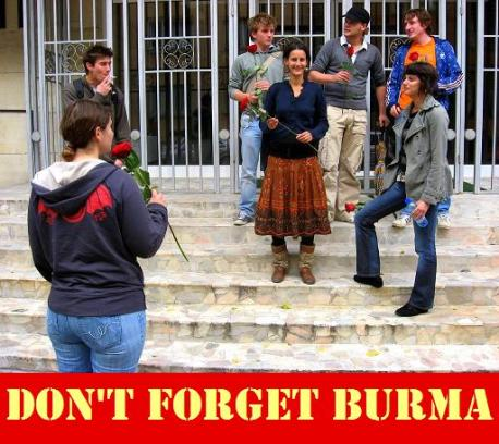 Don't Forget Burma!